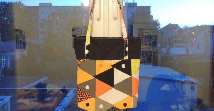 Jak jsem ušila tašku v minikurzu šití - uvod