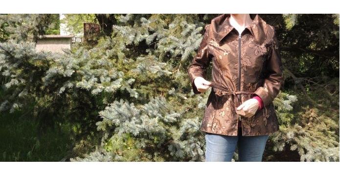 Jarní bunda odolá větru a dešti - uvod