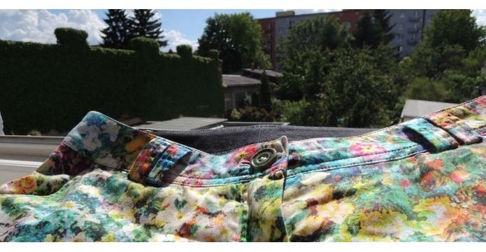 Kalhoty jako malované od Moneta - uvod