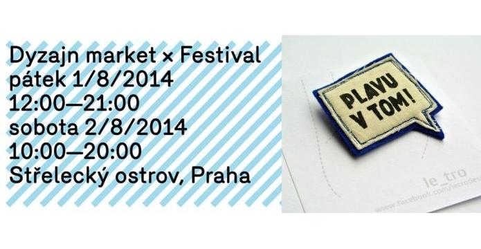 Dyzajn market Festival otevře druhou půlku prázdnin módou a hudbou - uvod