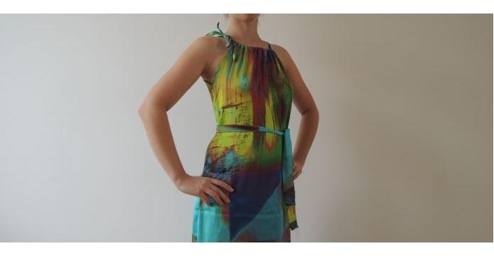 Nové dlouhé šaty na konci léta. A proč ne? - uvod