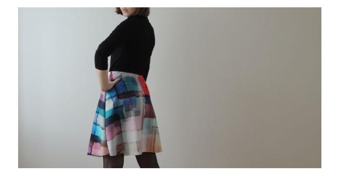 Barevná sukně pro barevný podzim - ackova barevna sukne - uvod