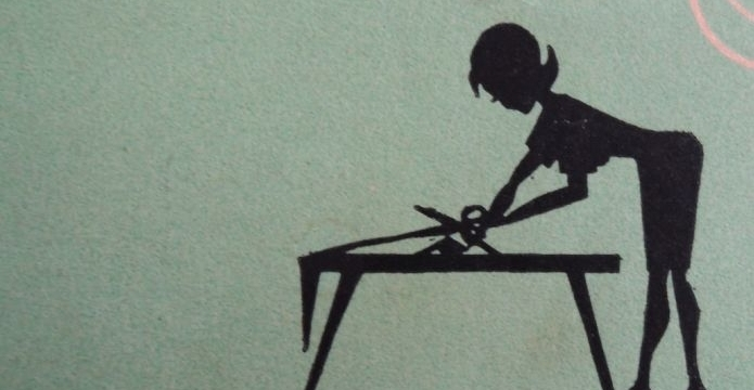 3. krok: Stříhám látku - striham