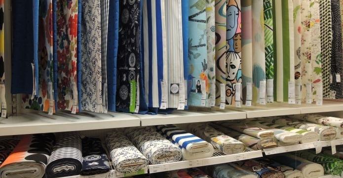 Metrový textil by IKEA - latkyikea