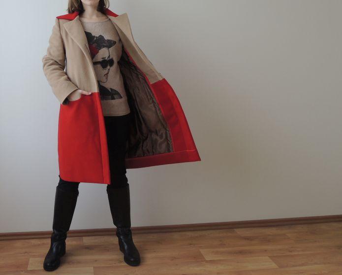Zimní kabát na míru