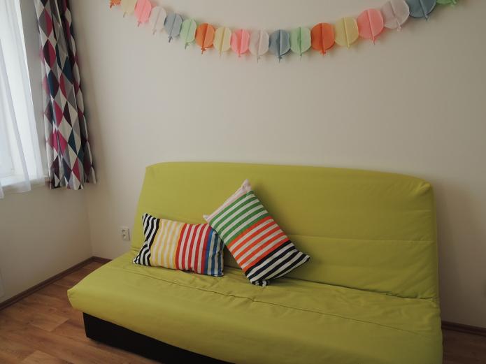 Povlaky na polštářky - Ikea, bavlna, pruhy