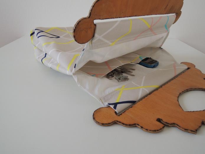 Látková taška z IKEA látky