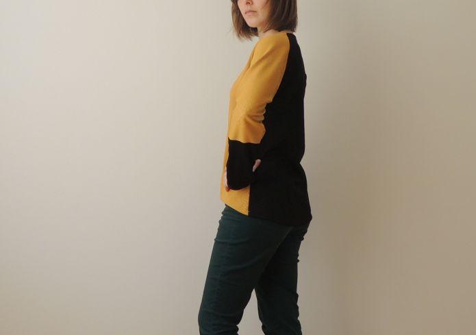 Žluté triko